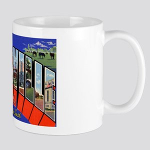 Louisville Kentucky Greetings Mug
