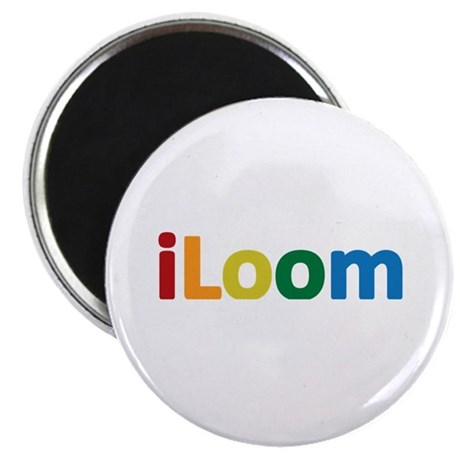 "iLoom 2.25"" Magnet (100 pack)"