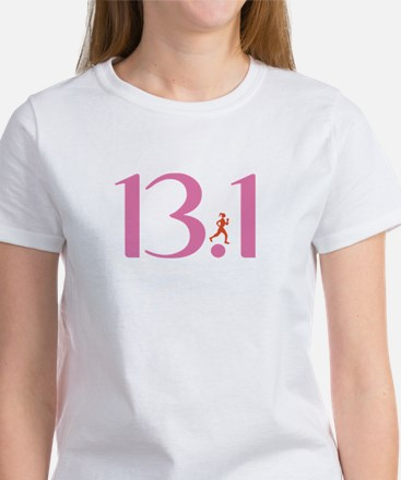 13.1 Half Marathon Runner Girl Women's T-Shirt