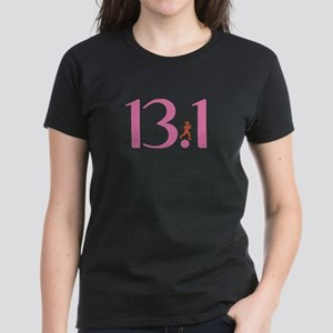 13.1 Half Marathon Runner Girl Women's Dark T-Shir