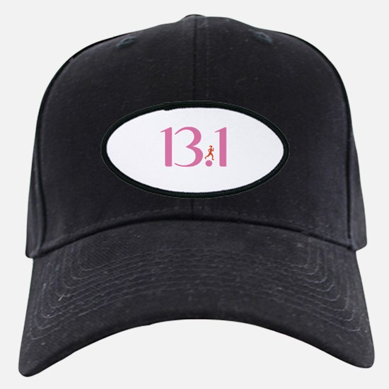 13.1 Half Marathon Runner Girl Baseball Hat
