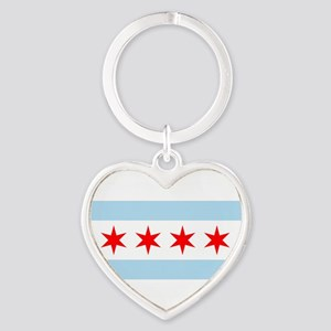 Chicago Flag Keychains