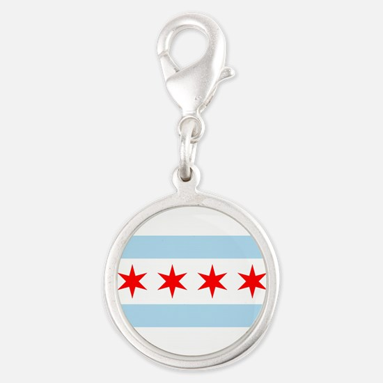Chicago Flag Charms
