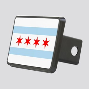 Chicago Flag Hitch Cover