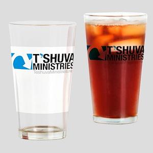 Teshuva Ministries Logo Drinking Glass