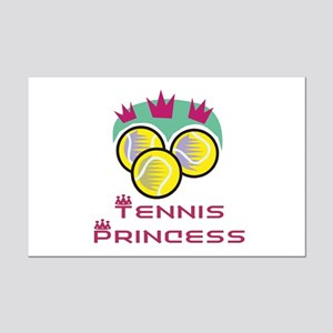 Tennis Princess Mini Poster Print