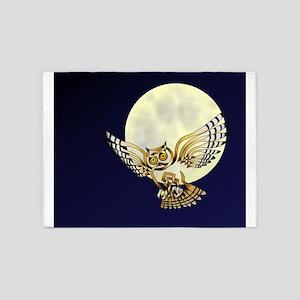 Owl 5'x7'Area Rug