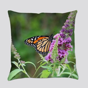 Monarch butterfly Everyday Pillow