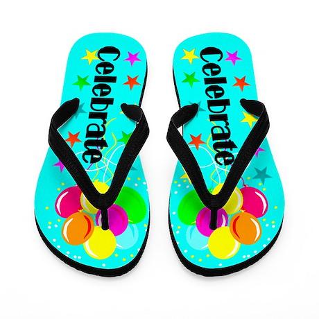 CELEBRATE Flip Flops