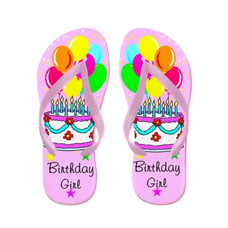 TOP BIRTHDAY Flip Flops
