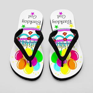 SUPER BIRTHDAY Flip Flops