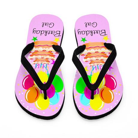 BEST BIRTHDAY Flip Flops