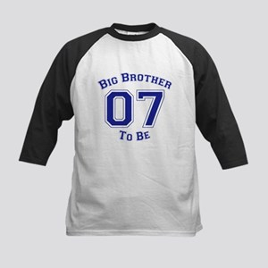 Big Brother to Be 07 Kids Baseball Jersey