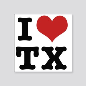 I love texas Sticker
