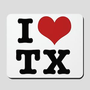 I love texas Mousepad