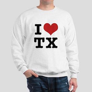 I love texas Sweatshirt
