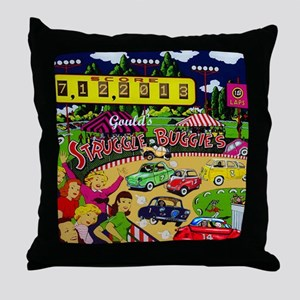 Goulds 2013 Microcar Classic Event! Throw Pillow
