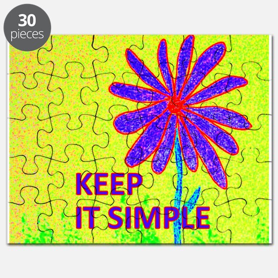 Wildflower Keep It Simple Puzzle