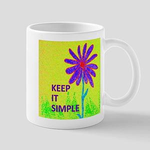 Wildflower Keep It Simple Mug