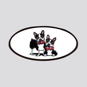 Bowtie Boston Terriers Patches