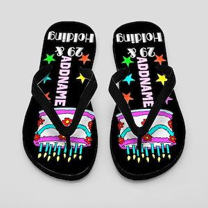 Wicked Birthday Flip Flops