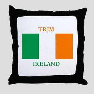 Trim Ireland Throw Pillow