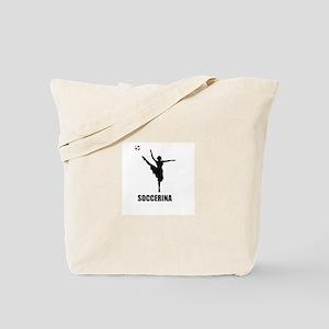 Soccerina Tote Bag