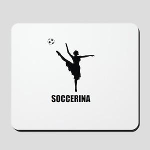 Soccerina Mousepad