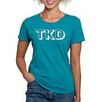 Tae Kwon Do TKD Womens Tri-blend T-Shirt