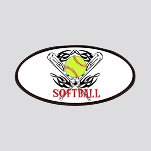 Softball Tribal Patches