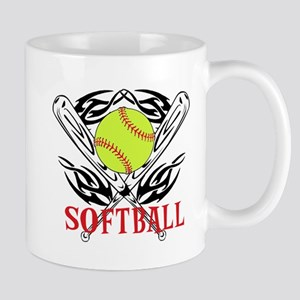 Softball Tribal Mug