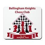 Bellingham Knights Chess Club Mousepad