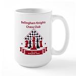 Bellingham Knights Chess Club Mugs