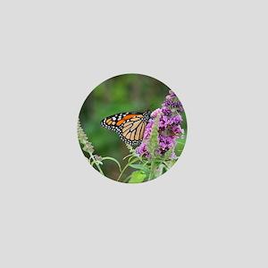 Monarch butterfly Mini Button