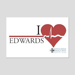 I Heart Edwards - Grey's Anatomy Mini Poster Print
