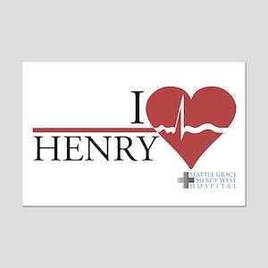 I Heart Henry - Grey's Anatomy Mini Poster Print