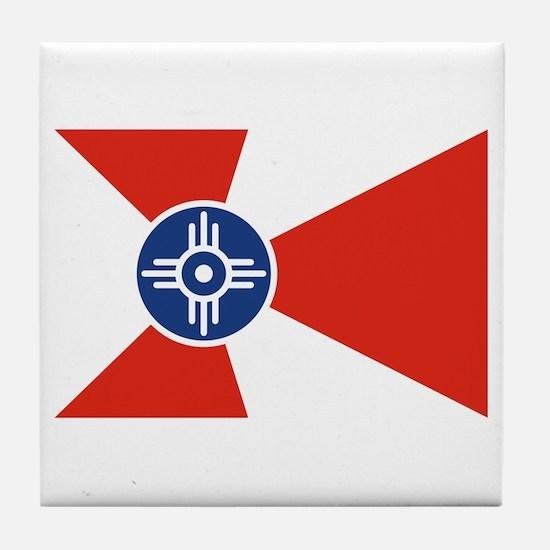 Wichita Flag Tile Coaster
