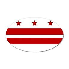 Washington DC Flag Wall Decal