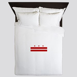 Washington DC Flag Queen Duvet