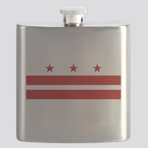 Washington DC Flag Flask