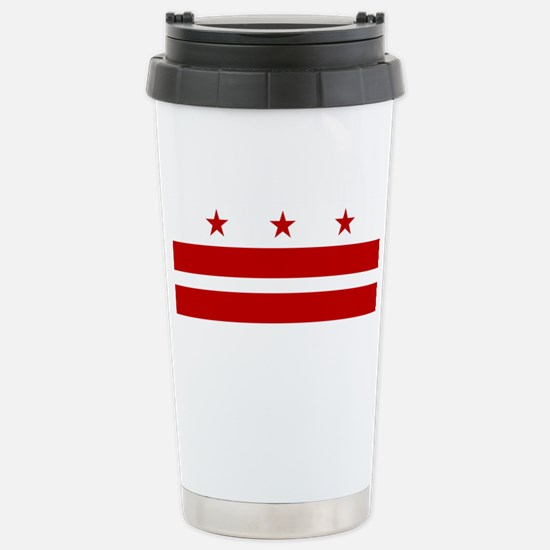 Washington DC Flag Travel Mug