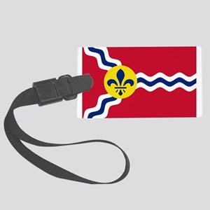 St Louis Flag Luggage Tag