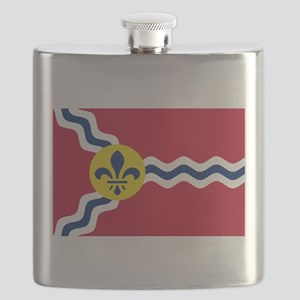 St Louis Flag Flask