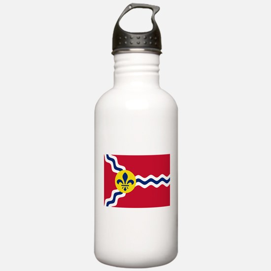 St Louis Flag Water Bottle