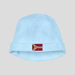 St Louis Flag baby hat