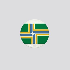 Portland Flag Mini Button