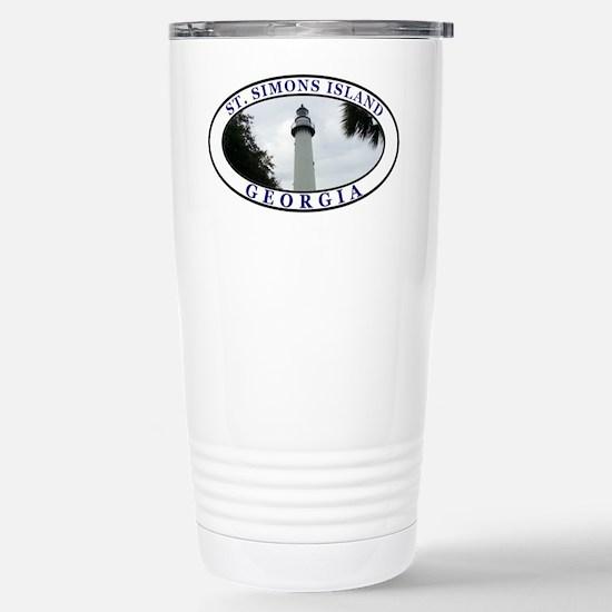 Saint Simons Island Travel Mug