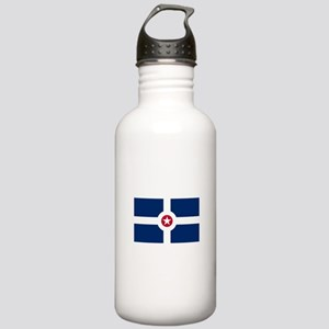 Indianapolis Flag Water Bottle