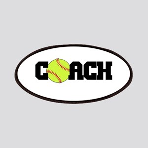 Softball Coach Patches