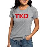 TKD TaeKwonDo Womens Tri-blend T-Shirt
